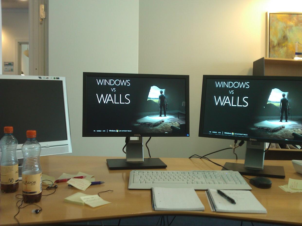 My Desk a year ago.